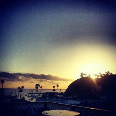 Hermosa Hotel : sunrise