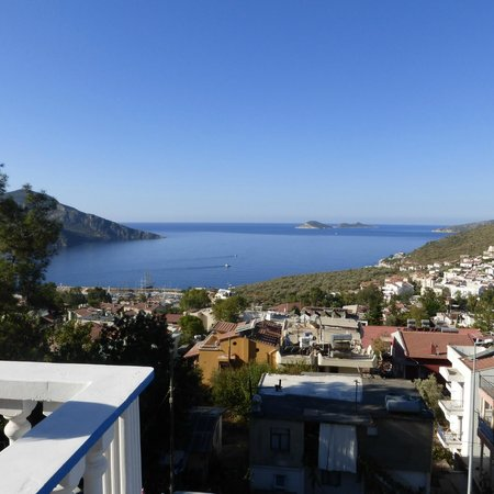 Kelebek Hotel: View from roof terrace where breakfast is served
