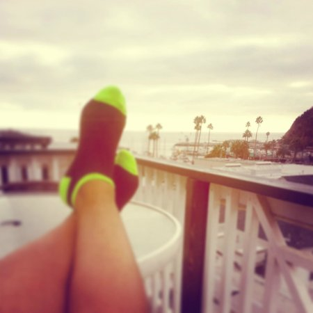 Hermosa Hotel : deck view