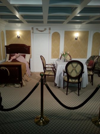 Exposition Titanic: Le luxe des cabines 1 ère classe!