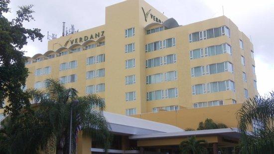 Verdanza Hotel: Hotel de frente