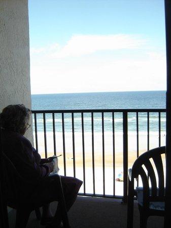 Tropic Sun Towers Condominium: View from patio