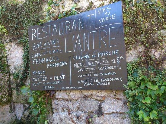 L'Antre Deux Verres : Nice setting