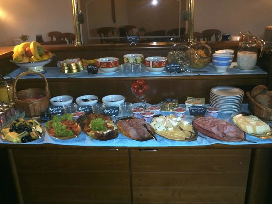 Pension Petri: Frühstücksbufett