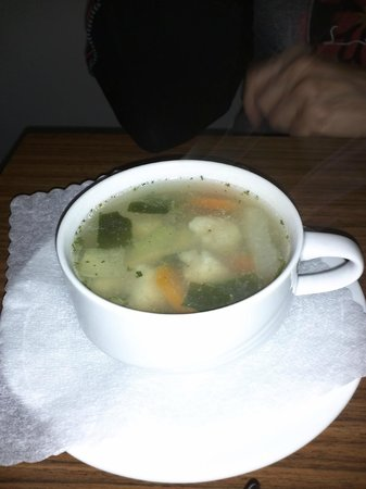 Pension Petri: Fischsuppe