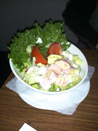 Pension Petri: Salat des Hauses