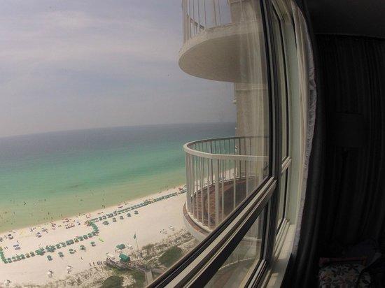Hidden Dunes Beach & Tennis Resort: View from master bedroom