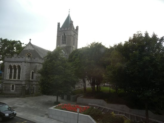 Harding Hotel: Christ Church Cathedral, from the room