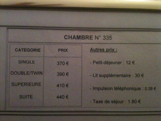 Normandy Hotel: Si ça vaut 75€ c'est le bout du monde! Nul et à éviter absolument.