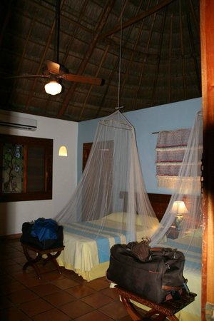 The Lodge at Chichen Itza: chambre