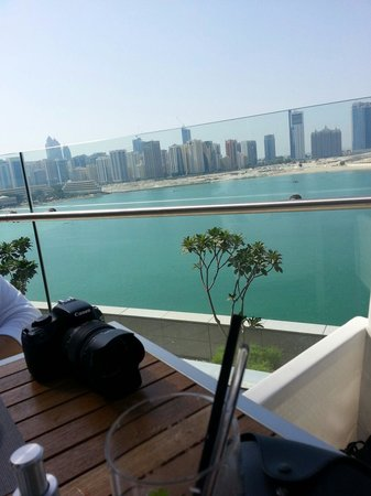Rosewood Abu Dhabi: Abu Dhabi, view from the other side