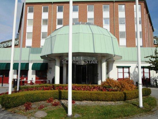 Scandic Hotel Star Lund: Hotelindgang