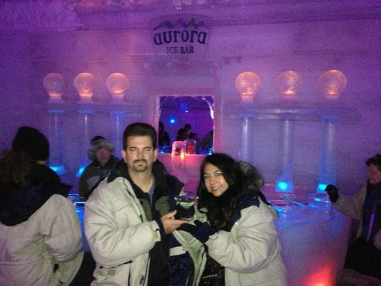 "The Aurora Ice Museum: A ""toast"" from the Aurora Ice Bar"