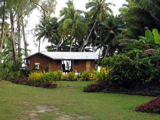 Amuri Sands, Aitutaki: The grounds