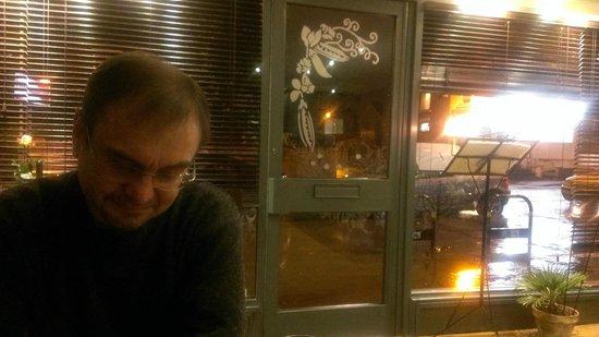 Cafe Roya: candle lit atmosphere
