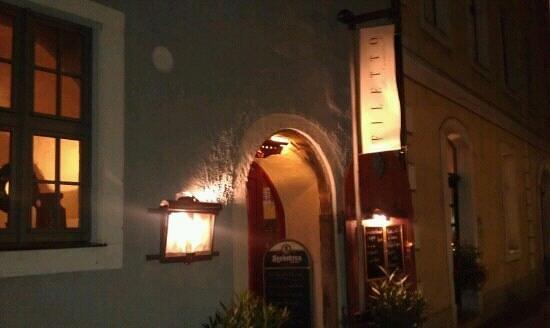 Filetto: Eingang