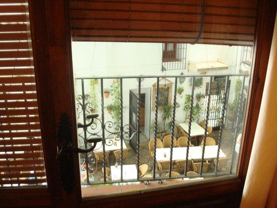 Hotel Los Patios: Los Patios view from the balcony