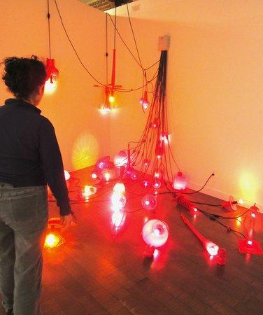 Pacific Design Center: lighting as Art installations