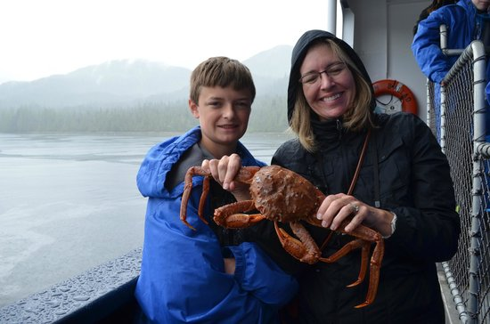 Bering Sea Crab Fishermen's Tour: Sorry, you cant take the crabs home!