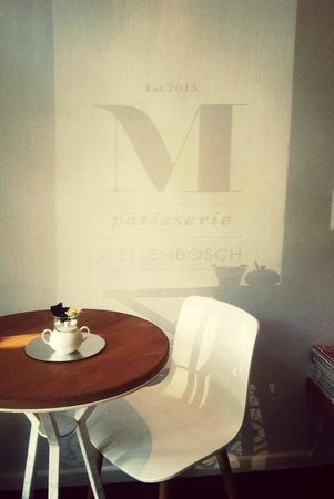 M Patisserie: Sunny morning at M's