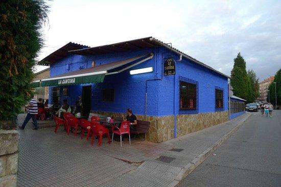 La Cantina Villalegre Sidreria: la cantina