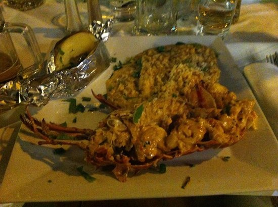 Mio Gusto : lobster flambe