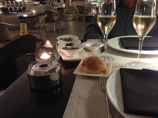 Fragata: apéro au champagne