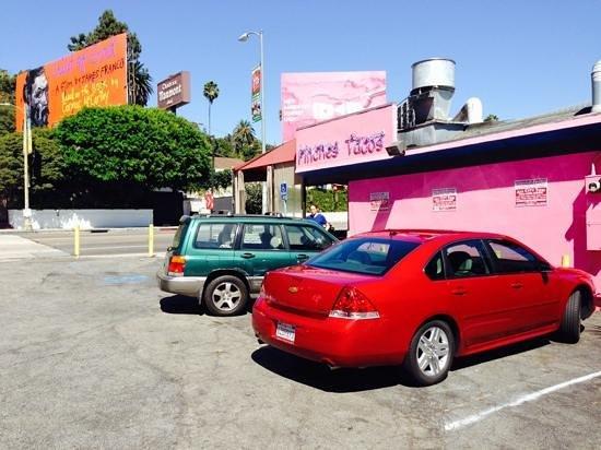 Big Red Rental at Pinches Tacos