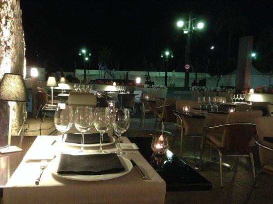 Fragata: terrasse