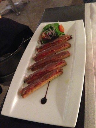 Fragata: entrée anchois