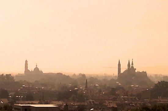 NH Padova : Dal terrazzo