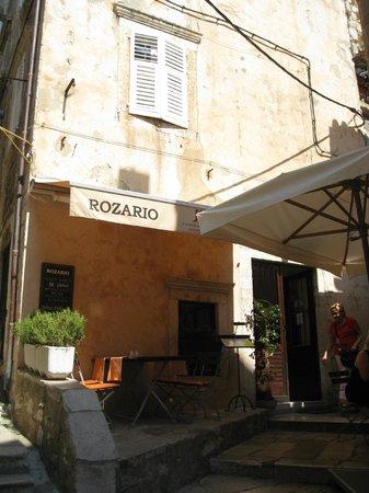 Exterior of  ROZARIO, Dubrovnik