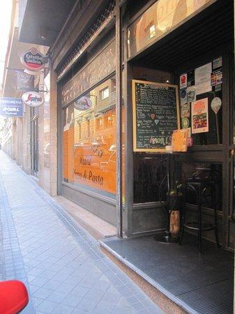 Da Cuchuffo Madrid : Exterior.