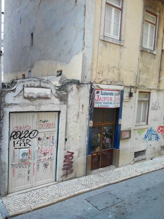 Pensao Monumental: calle