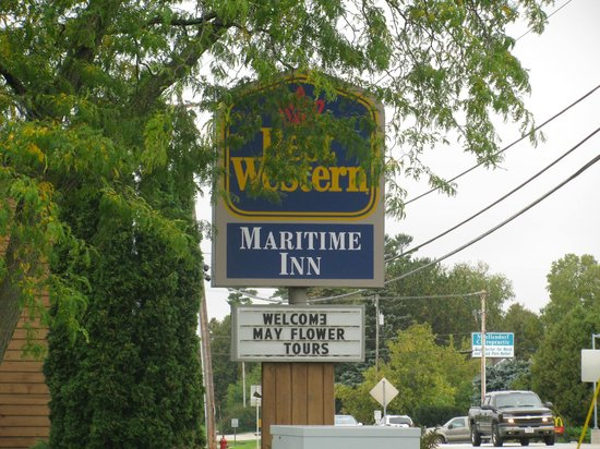 Best Western Maritime Inn : Sign