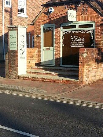 Elsies Traditional Tea Room: 27 High Street.  Botley