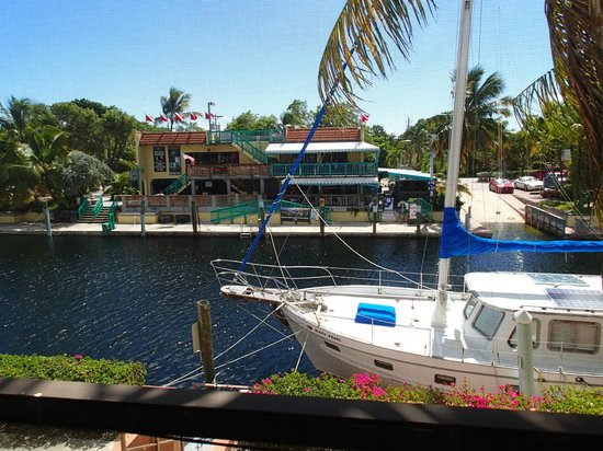 Key West Inn - Key Largo: view from the porch