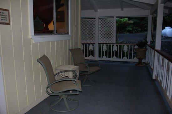 Lokahi Lodge: outside the Olena room