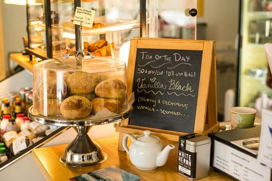 White Heron Tea & Coffee Community: House Baked English Muffins and Tea of the Day