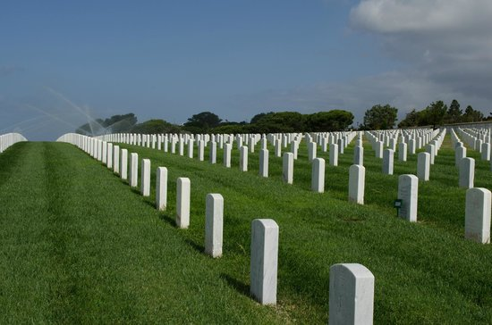Fort Rosecrans Cemetery : Fort Rosecrans National Cemetery