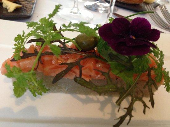 La Poularde: Smoked Salmon with Artichoke