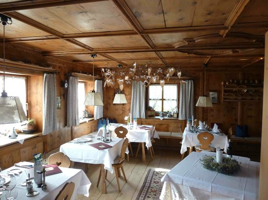 Hotel Uhrerhof-Deur : Speisezimmer