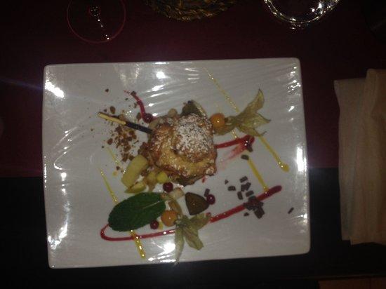 Restaurant La Fleur de Thym : My dessert