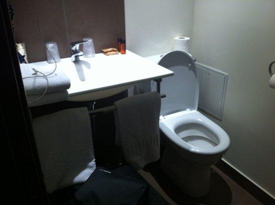Hotel des Ducs : petite salle de bains