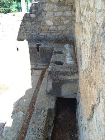Sites Archéologiques de Vaison la Romaine : Roman toilets