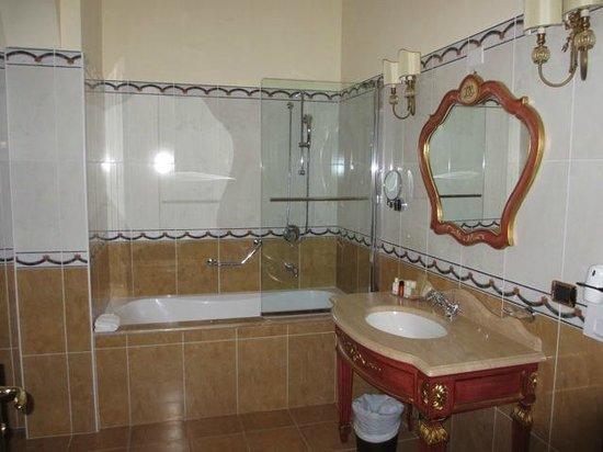 Grand Hotel President Olbia: Magnifique salle de bains