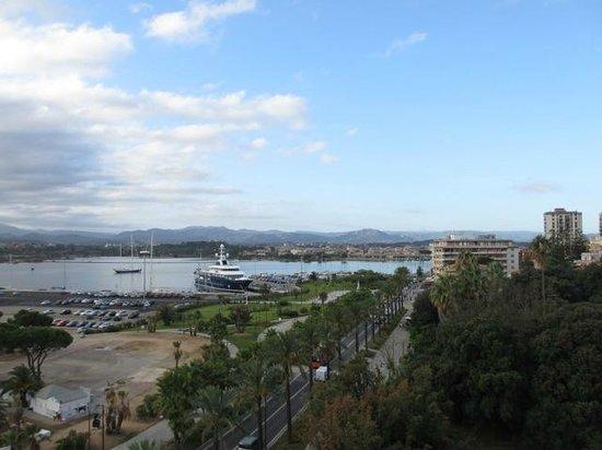 Grand Hotel President Olbia : Vue de la terrasse panoramique