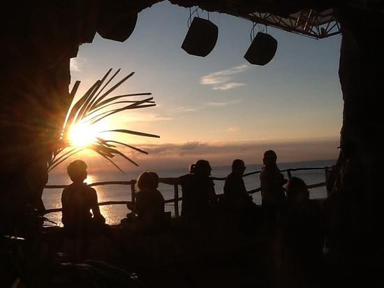 Cova d'en Xoroi: sunset
