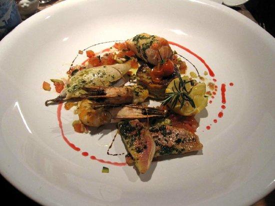 Le Statu.co: seafood plate