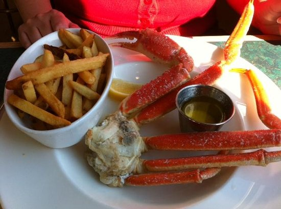 Tides Restaurant: Fresh Snow Crab